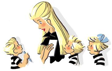 Nicole Lambert - Mots d'enfants - Les triplés de Nicole Lambert